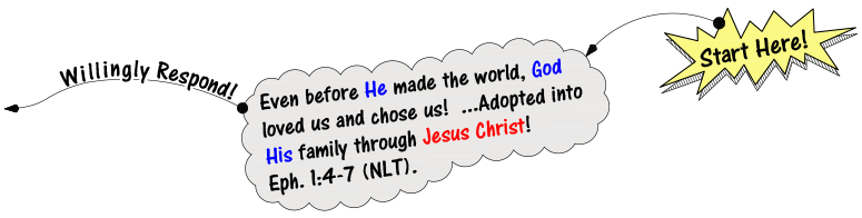 he chose us and we choose him